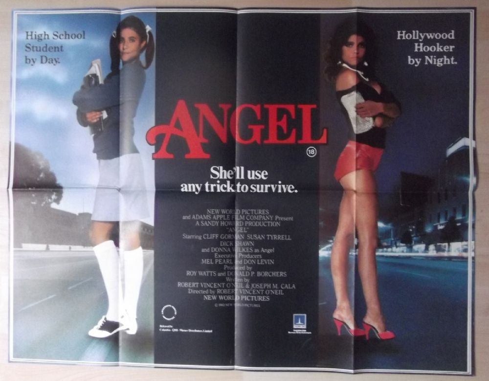 Angel Original Uk Quad Poster Susan Tyrrell Prostitution